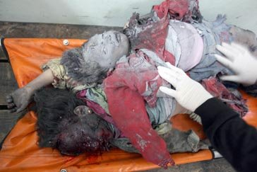 Some of the terrorists killed in the airstrike